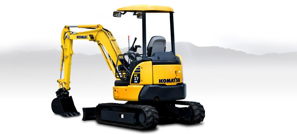 Komatsu Excavators PC27MR-3