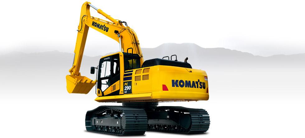 Komatsu Excavators PC290LC-10