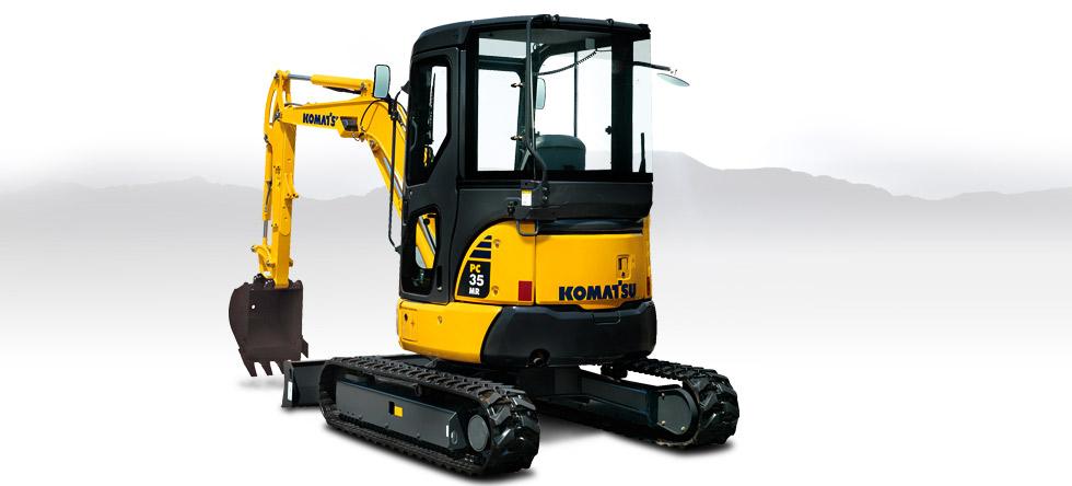 Komatsu Excavators PC35MR-3