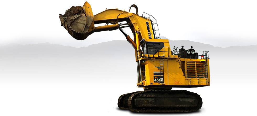 Komatsu Excavators PC4000-6