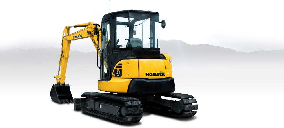 Komatsu Excavators PC45MR-3