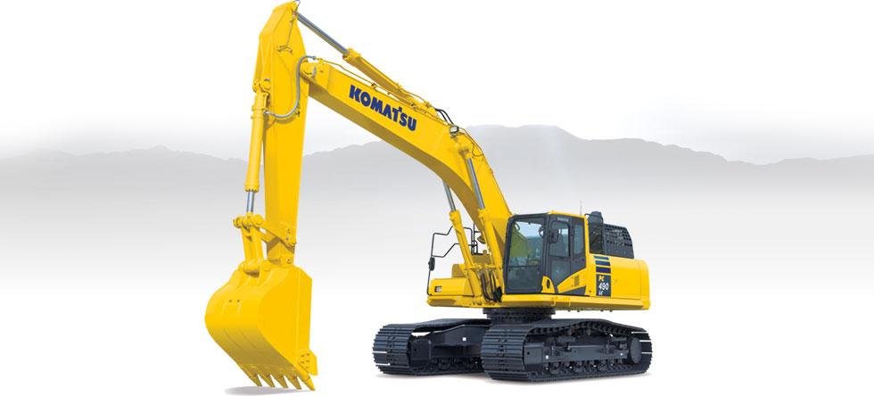Komatsu Excavators PC490LC-11
