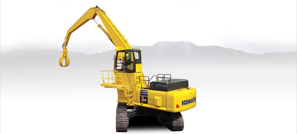 Komatsu Excavators PC490LC-10 MH
