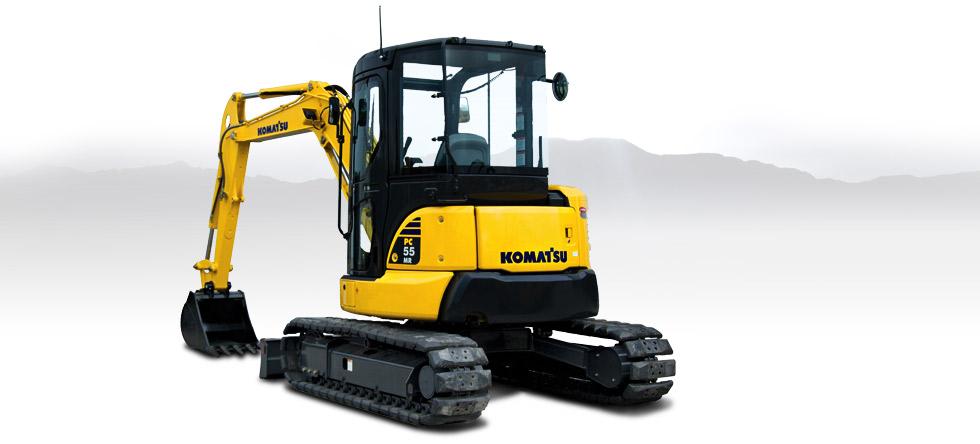 Komatsu Excavators PC55MR-3