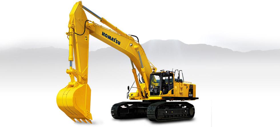 Komatsu Excavators PC650LC-8