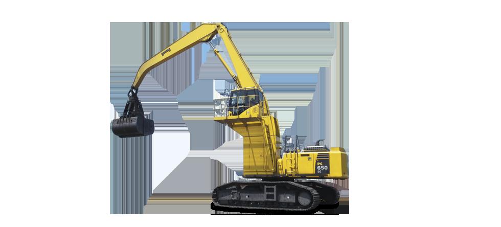 Komatsu Excavators PC650LC-8 MH