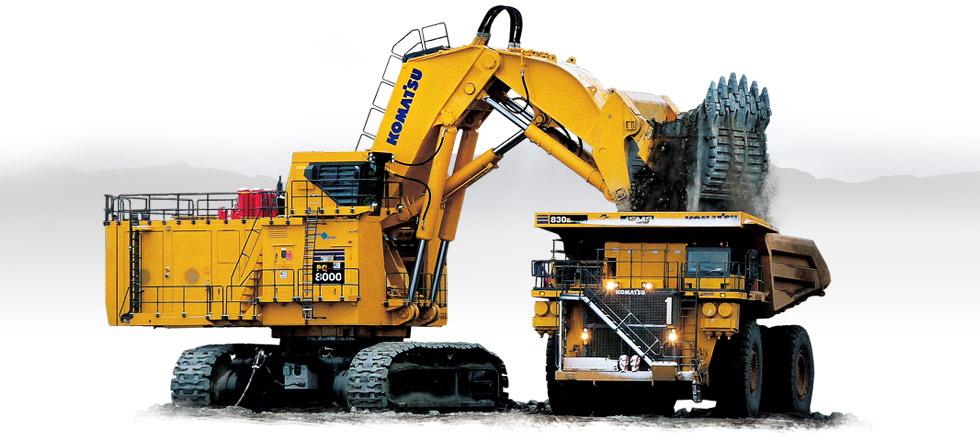 Komatsu Excavators PC8000-6