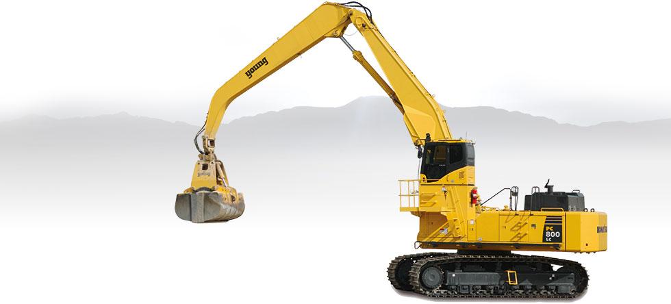 Komatsu Excavators PC800LC-8 MH