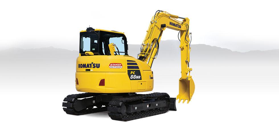 Komatsu Excavators PC88MR-10