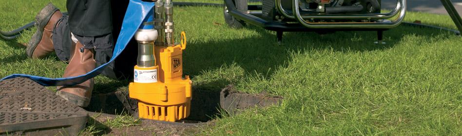 JCB Light Equipment Trash Pump