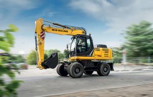 New Holland Wheeled Excavators WE 190B PRO