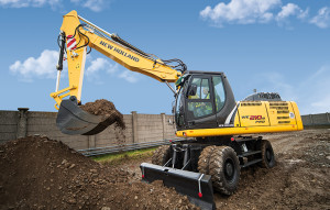 New Holland Wheeled Excavators WE 210B PRO