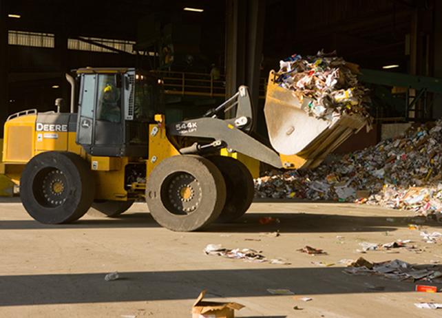 John Deere Waste Equipment 544K WH