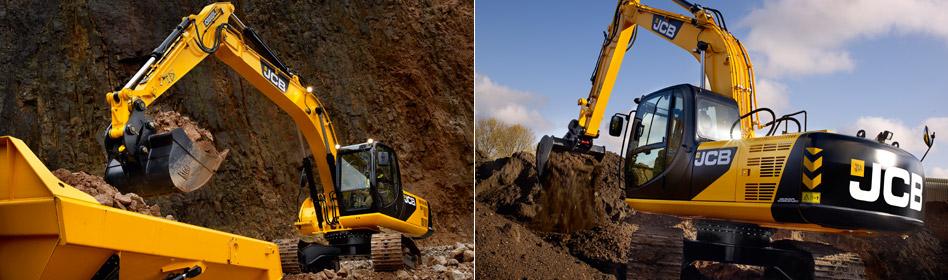 JCB Hydraulic Excavators JS220