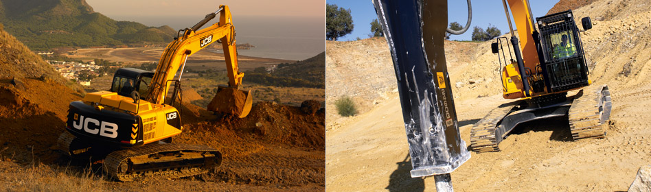 JCB Hydraulic Excavators JS260