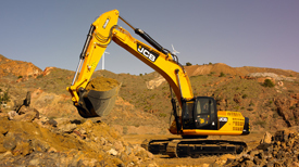 JCB Hydraulic Excavators JS330