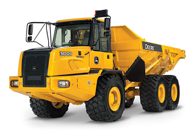 John Deere Articulated Dump Trucks 300D-II