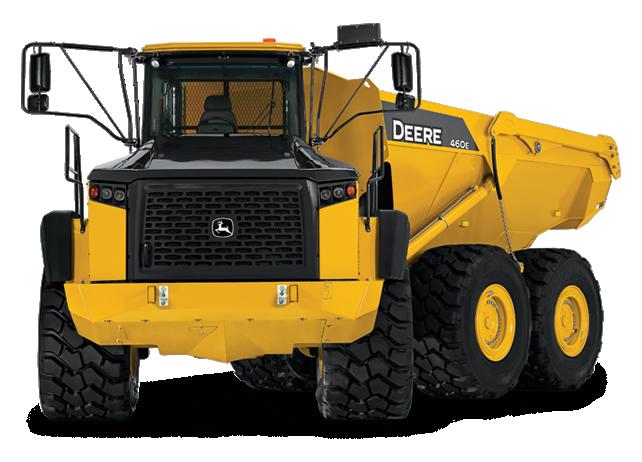John Deere Articulated Dump Trucks 460E