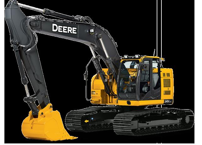 John Deere Excavators 245G LC