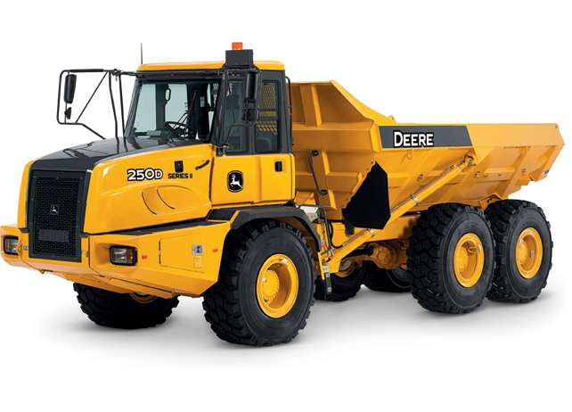 John Deere Articulated Dump Trucks 250D-II