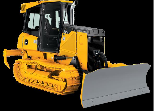 John Deere Crawler Dozers 550K XLT