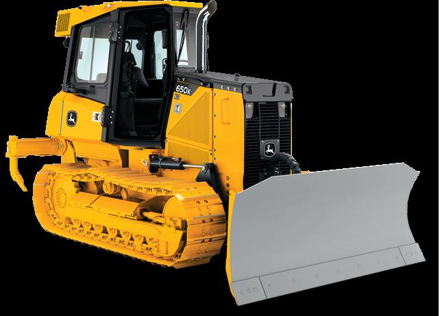 John Deere Crawler Dozers 650K XLT