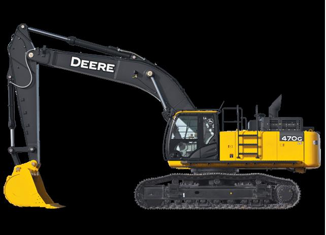 John Deere Excavators 470G LC