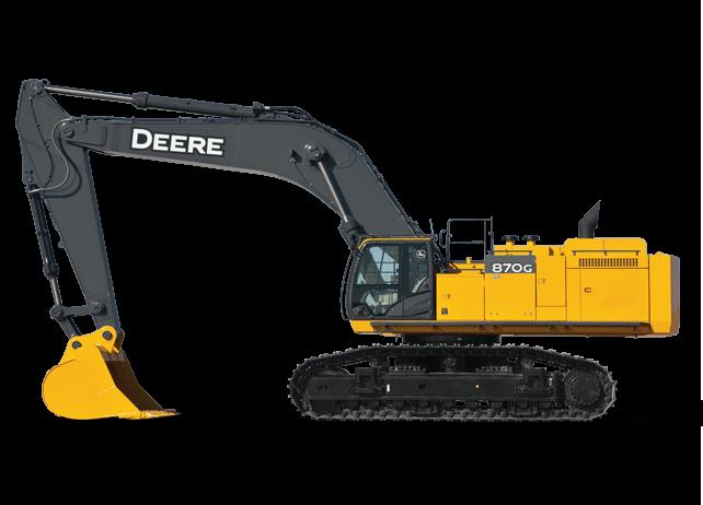 John Deere Excavators 870G LC
