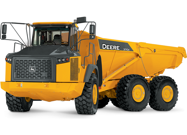 John Deere Articulated Dump Trucks 370E