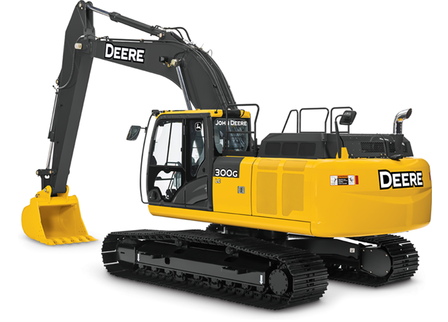 John Deere Excavators 300G LC