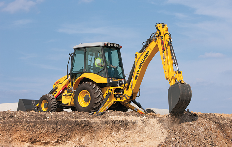 New Holland Backhoe Loaders
