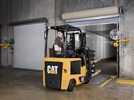 cat lift trucks cushion tire ec25ln2 36v