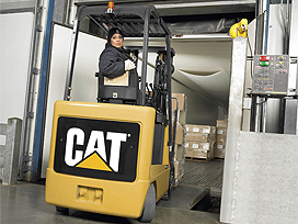 cat lift trucks cushion tire ec4000 48v