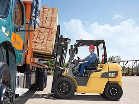cat lift trucks internal combustion pneumatic tire mexico dp55nm1