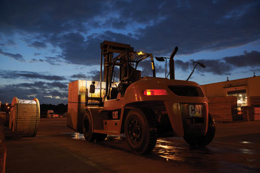 cat lift trucks internal diesel pneumatic tire dp120n