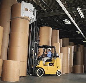 cat lift trucks paper handling chassis gc40kprhstr