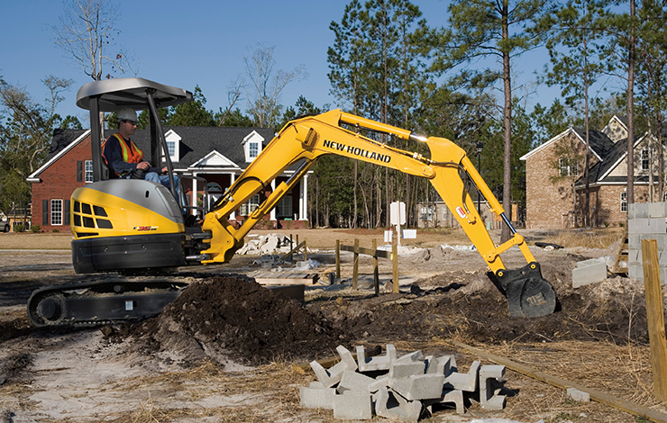 New Holland Compact Excavators