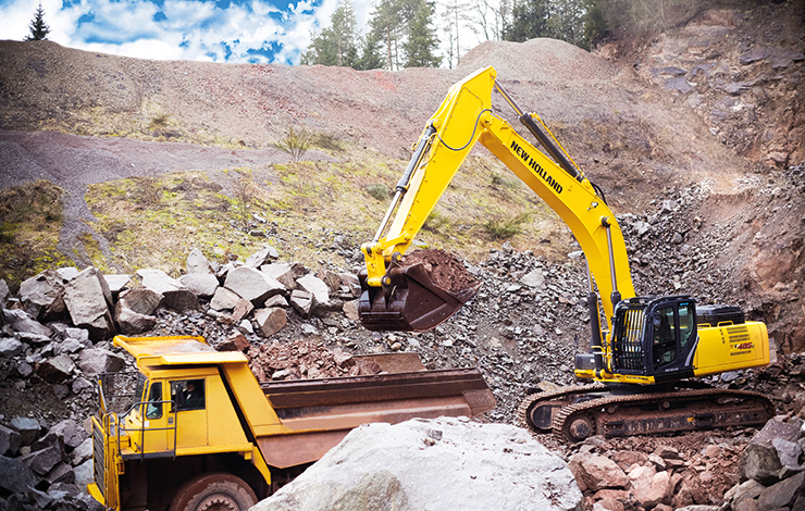 New Holland Crawler Excavators