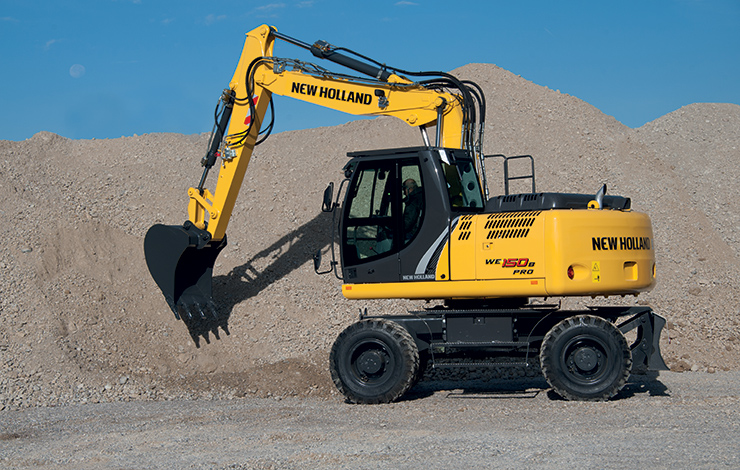 New Holland Wheeled Excavators