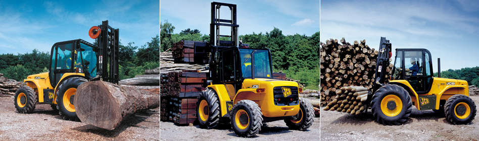 JCB Rough Terrain Forklifts