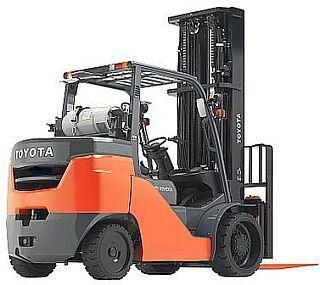 Toyota forklift 8FGC55U